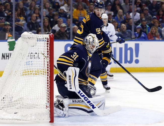 Buffalo Sabres vs. Tampa Bay Lightning - 11/5/15 NHL Pick, Odds, and Prediction