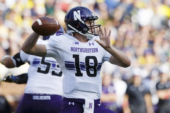 CFB | Iowa Hawkeyes (6-0) at Northwestern Wildcats (5-1)