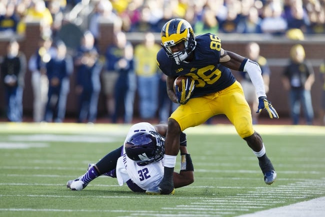 Michigan State Spartans vs. Michigan Wolverines - 10/17/15 College Football Pick, Odds, and Prediction