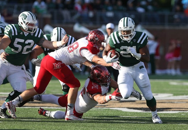 Miami-OH RedHawks vs. Ohio Bobcats - 10/1/16 College Football Pick, Odds, and Prediction