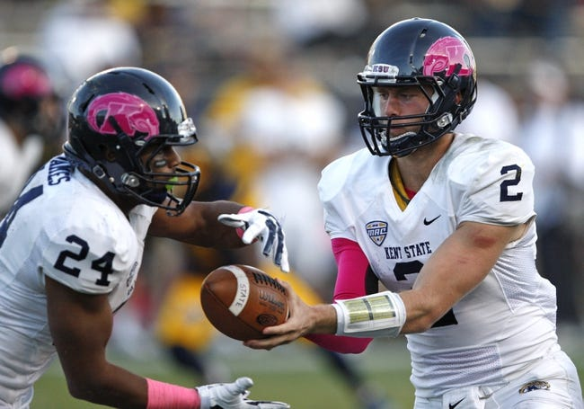 Kent State vs. Buffalo - 11/5/15 College Football Pick, Odds, and Prediction