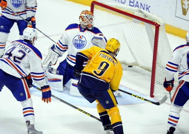 Oilers vs. Predators - 1/23/16 NHL Pick, Odds, and Prediction