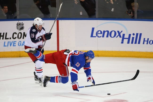 Rangers vs. Blue Jackets - 2/29/16 NHL Pick, Odds, and Prediction