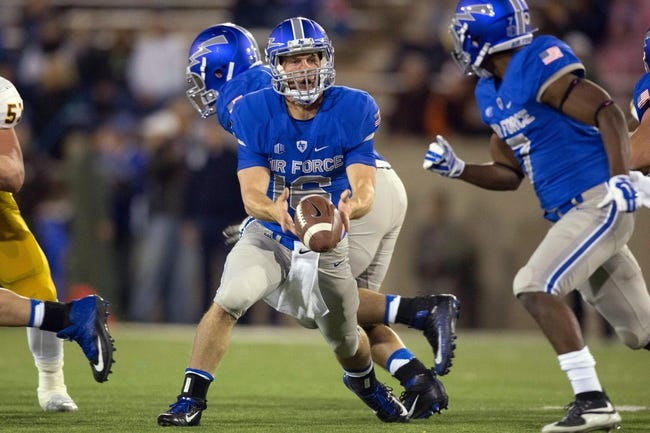 Colorado State Rams vs. Air Force Falcons - 10/17/15 College Football Pick, Odds, and Prediction