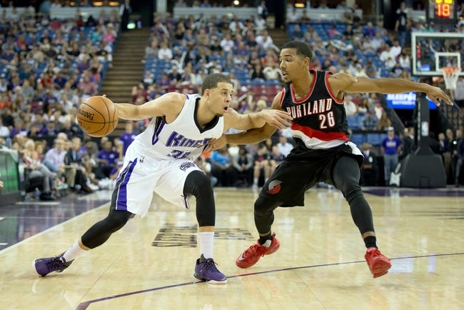 Sacramento Kings vs. Portland Trail Blazers - 12/27/15 NBA Pick, Odds, and Prediction