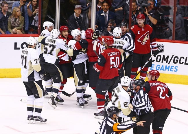 Pittsburgh Penguins vs. Arizona Coyotes - 2/29/16 NHL Pick, Odds, and Prediction