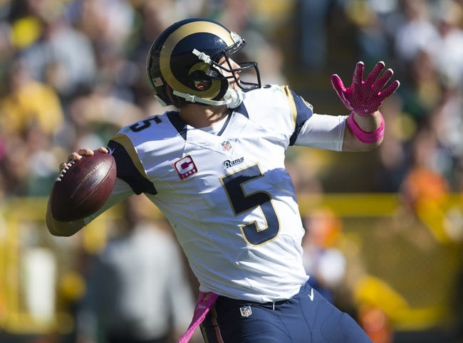 Browns at Rams - 10/25/15 NFL Pick, Odds, and Prediction