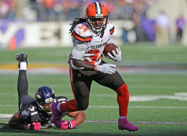 Fantasy Football 2015: Ravens at Browns Week 12 Preview