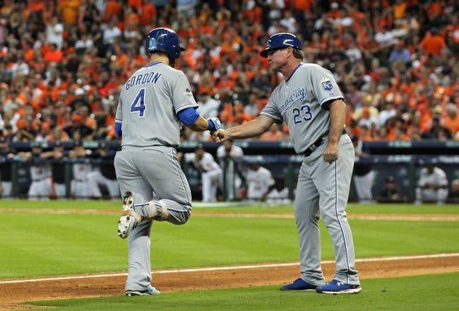 Houston Astros vs. Kansas City Royals ALDS Game 4 - 10/12/15 MLB Pick, Odds, and Prediction