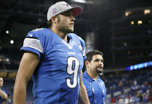 Bears at Lions - 10/18/15 NFL Pick, Odds, and Prediction