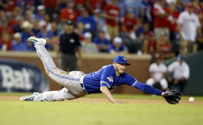 Texas Rangers vs. Toronto Blue Jays ALDS Game 4 - 10/12/15 MLB Pick, Odds, and Prediction
