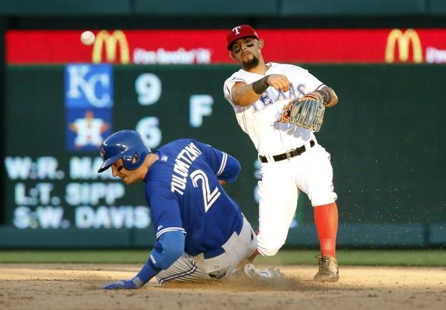 Toronto Blue Jays vs. Texas Rangers ALDS Game 5 - 10/14/15 MLB Pick, Odds, and Prediction