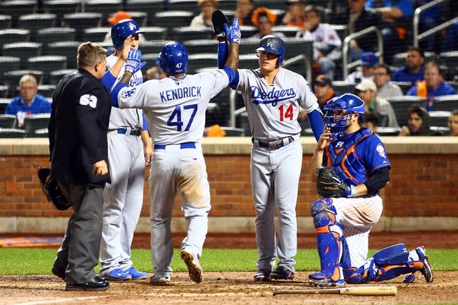 New York Mets vs. Los Angeles Dodgers NLDS Game 4 - 10/13/15 MLB Pick, Odds, and Prediction