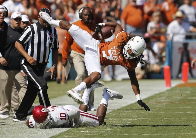 Kansas State Wildcats vs. Texas Longhorns - 10/24/15 College Football Pick, Odds, and Prediction