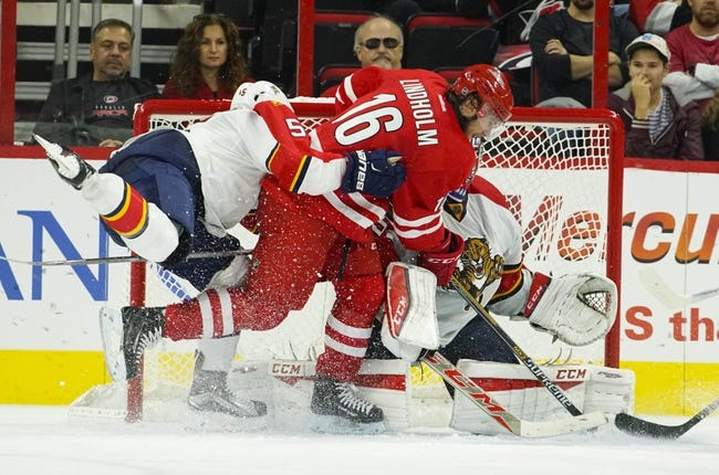 Carolina Hurricanes vs. Florida Panthers - 12/18/15 NHL Pick, Odds, and Prediction