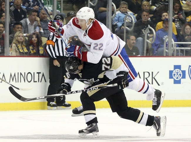 Pittsburgh Penguins vs. Montreal Canadiens - 11/11/15 NHL Pick, Odds, and Prediction