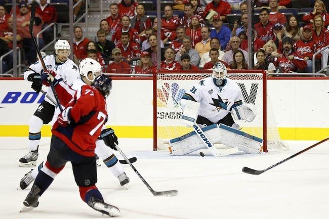 Sharks vs. Capitals - 3/12/16 NHL Pick, Odds, and Prediction