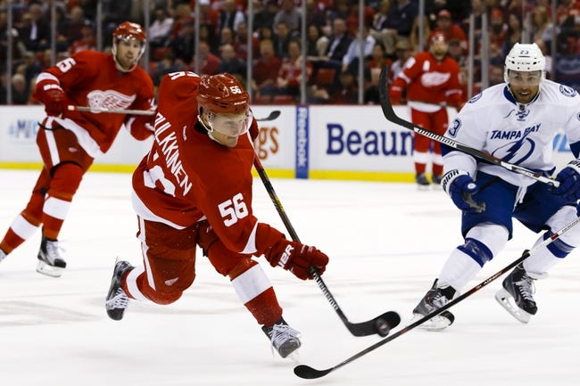 Detroit Red Wings vs. Tampa Bay Lightning - 11/3/15 NHL Pick, Odds, and Prediction