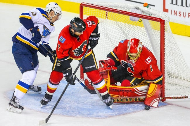 St. Louis Blues vs. Calgary Flames - 12/19/15 NHL Pick, Odds, and Prediction