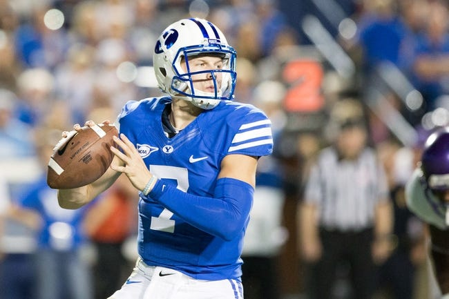 Utah State vs. BYU - 9/29/17 College Football Pick, Odds, and Prediction