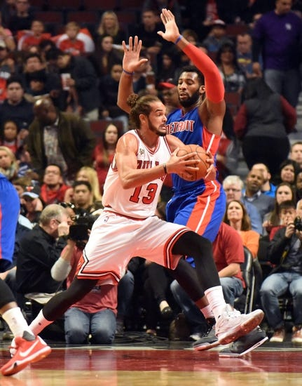 Detroit Pistons vs. Chicago Bulls - 10/30/15 NBA Pick, Odds, and Prediction