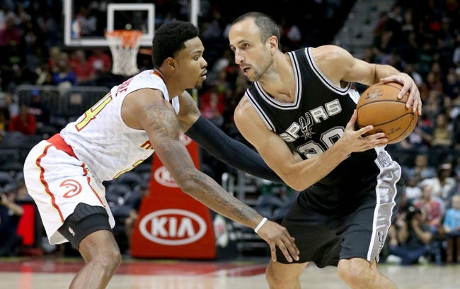 Spurs vs. Hawks - 11/28/15 NBA Pick, Odds, and Prediction