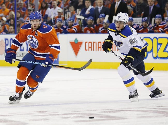 Oilers vs. Blues - 3/16/16 NHL Pick, Odds, and Prediction