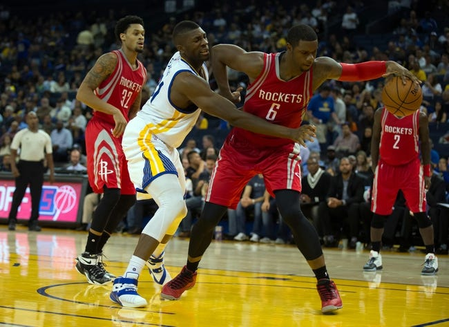 Houston Rockets vs. Golden State Warriors - 10/30/15 NBA Pick, Odds, and Prediction
