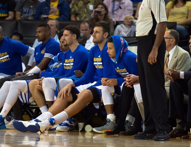 Pelicans at Warriors - 10/27/15 NBA Pick, Odds, and Prediction