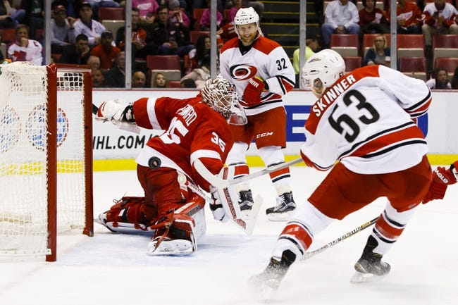 Detroit Red Wings vs. Carolina Hurricanes - 10/27/15 NHL Pick, Odds, and Prediction
