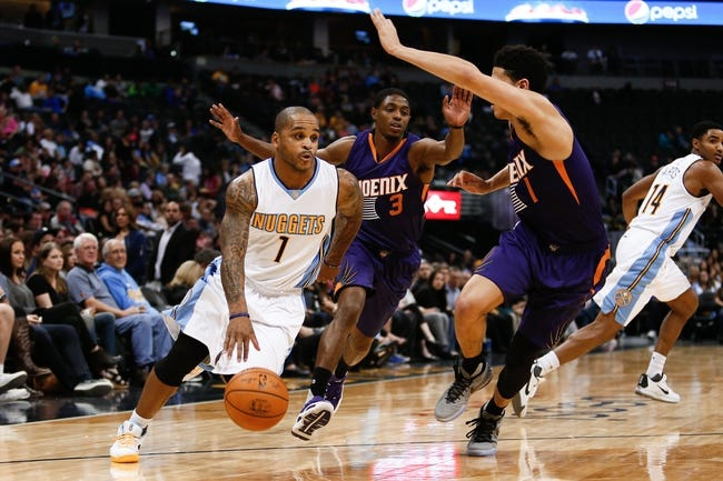 Phoenix Suns vs. Denver Nuggets - 11/14/15 NBA Pick, Odds, and Prediction