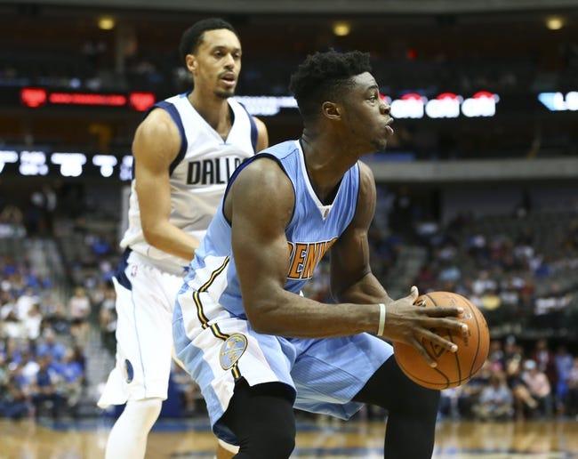 Dallas Mavericks vs. Denver Nuggets - 11/28/15 NBA Pick, Odds, and Prediction