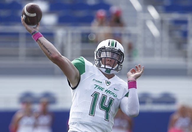 CFB | Marshall Thundering Herd (8-1) at Middle Tennessee Blue Raiders (3-5)