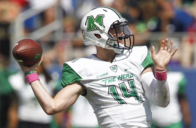 Marshall vs. Connecticut - 12/26/15 College Football St. Petersburg Bowl Pick, Odds, and Prediction