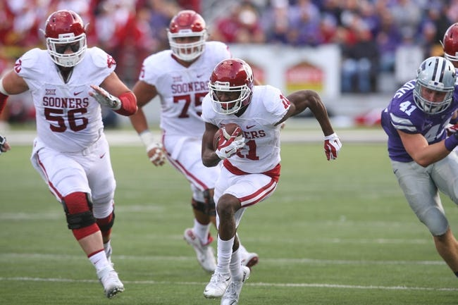 Texas Tech Red Raiders vs. Oklahoma Sooners - 10/24/15 College Football Pick, Odds, and Prediction