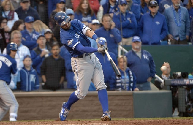 Toronto Blue Jays vs. Kansas City Royals  ALCS Game 3 - 10/19/15 MLB Pick, Odds, and Prediction