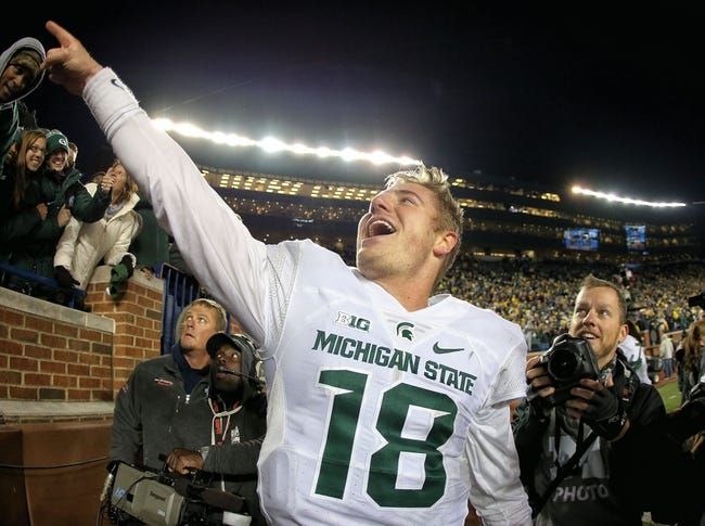 CFB | Indiana Hoosiers (4-3) at Michigan State Spartans (7-0)