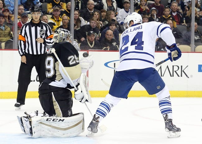Toronto Maple Leafs vs. Pittsburgh Penguins - 10/31/15 NHL Pick, Odds, and Prediction