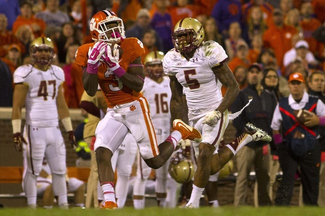 Miami Hurricanes vs. Clemson Tigers - 10/24/15 College Football Pick, Odds, and Prediction