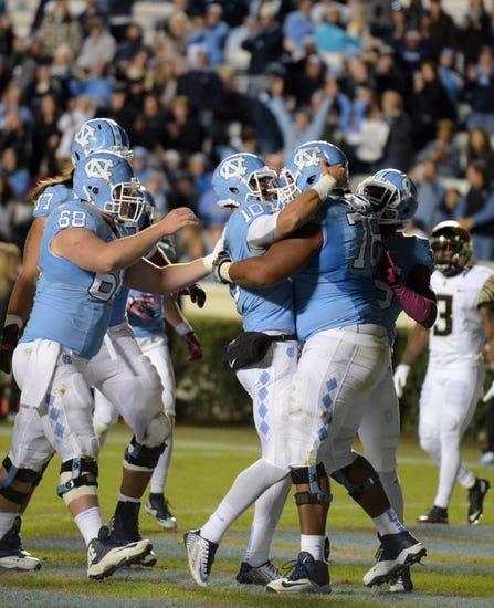 North Carolina Tar Heels vs. Virginia Cavaliers - 10/24/15 College Football Pick, Odds, and Prediction