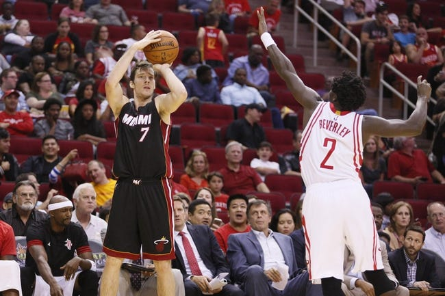 Rockets at Heat - 11/1/15 NBA Pick, Odds, and Prediction