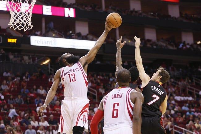 Miami Heat vs. Houston Rockets - 11/1/15 NBA Pick, Odds, and Prediction