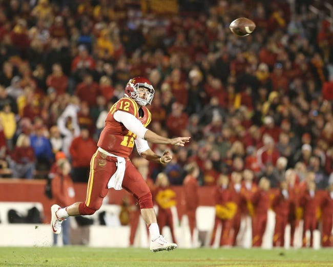Texas Longhorns vs. Iowa State Cyclones - 10/31/15 College Football Pick, Odds, and Prediction