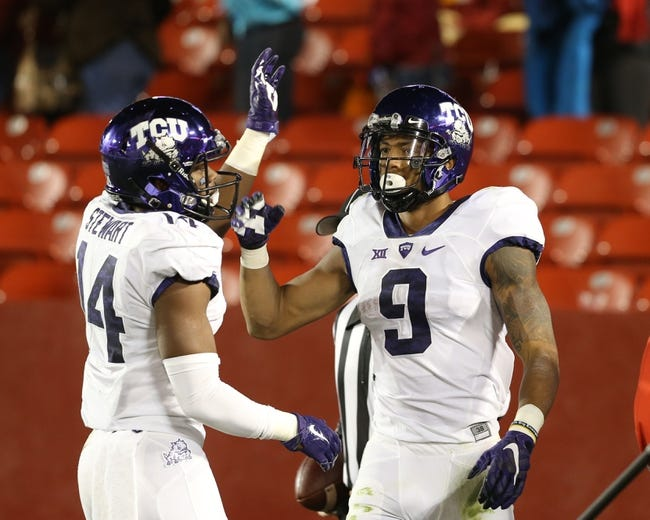 West Virginia Mountaineers vs. TCU Horned Frogs - 10/29/15 College Football Pick, Odds, and Prediction