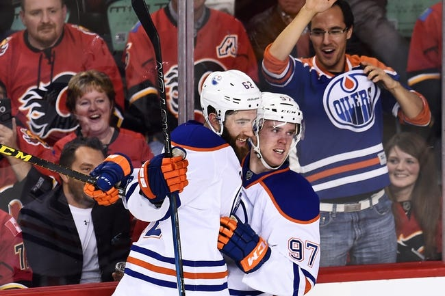 Edmonton Oilers vs. Calgary Flames - 10/31/15 NHL Pick, Odds, and Prediction