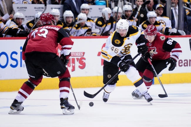 Boston Bruins vs. Arizona Coyotes - 10/27/15 NHL Pick, Odds, and Prediction