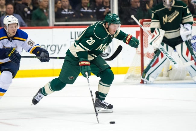 St. Louis Blues vs. Minnesota Wild - 10/31/15 NHL Pick, Odds, and Prediction