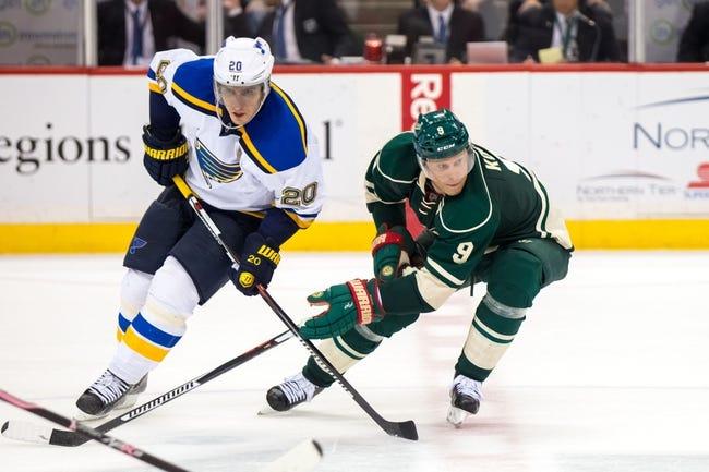 St. Louis Blues vs. Minnesota Wild - 12/31/15 NHL Pick, Odds, and Prediction
