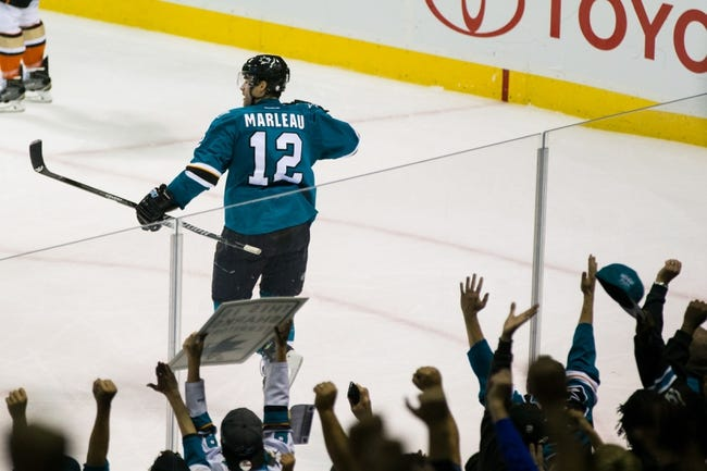 Anaheim Ducks vs. San Jose Sharks - 12/4/15 NHL Pick, Odds, and Prediction