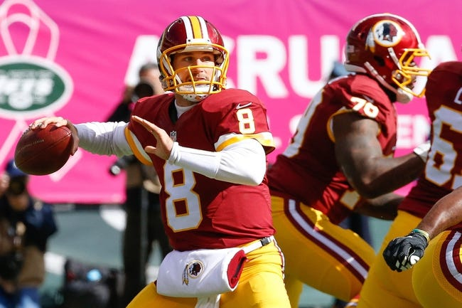 Redskins vs. Buccaneers - 10/25/15 NFL Pick, Odds, and Prediction
